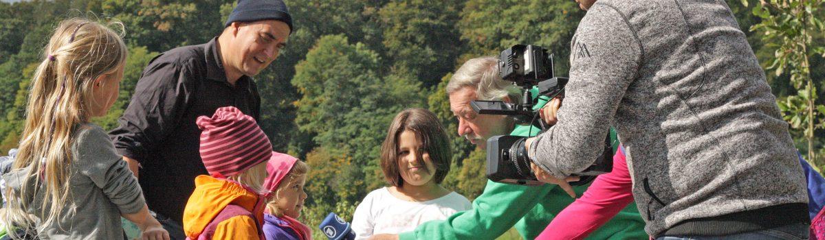 Filmteam vom WDR besucht Solawi Bodensee